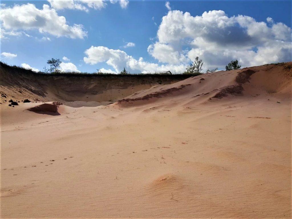 песчаный карьер Ульяновская область