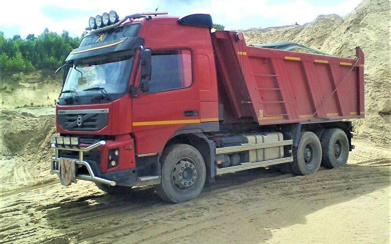 поставка автомашиной 30 тонн