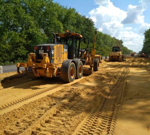 поставка песка для дорожно-строительных работ
