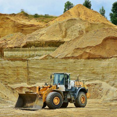 песчаный карьер добыча песка